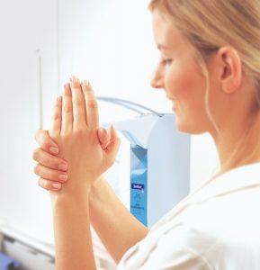 Händedesinfektion und Desinfektionsmittel – Grippeschutz