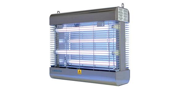 Fluginsektenvernichter Genus® Liberator 60W aus Edelstahl mit bruchsicheren Lampen