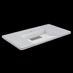 Franke EXOS. einzelner Waschtisch - Standard