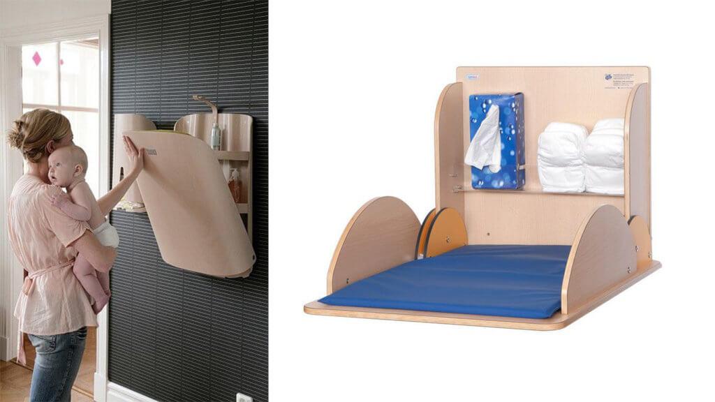 Der Siegeszug in die Kinderzimmer: Der Wandwickeltisch ...
