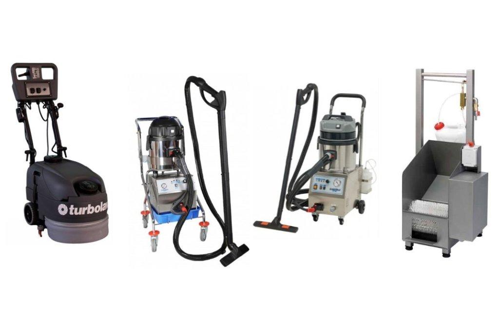 Reinigungsmaschinen für professionelle Desinfektion und Reinigung von Oberflächen und Gebäude