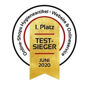 1e Platz!! Hygiene-shop.eu Gewinner Website & Online Service!