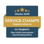 Hygiene Shop Testsieger Oktober 2020