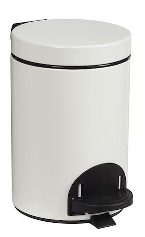 Rossignol Sanelia pedal bin with antibacterial inner bucket 3L and 5L Rossignol 90113,90114