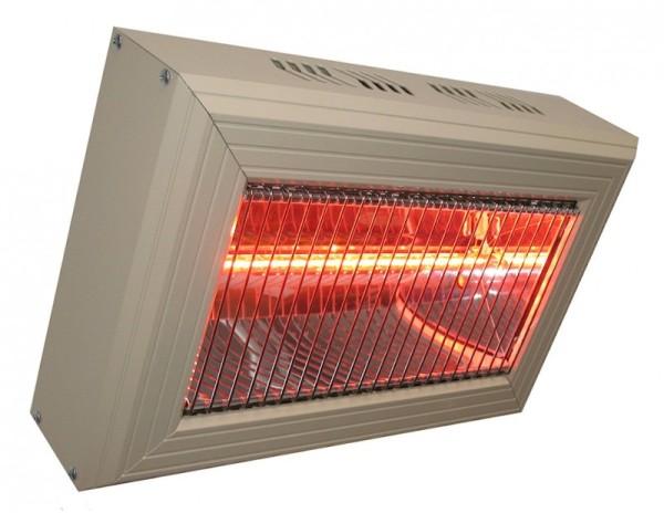 Heatlight quarz aluminium infrarot heater in different sizes - for indoor use Heatlight Infrarot HLQ15G,HLQ30G,HLQ45G