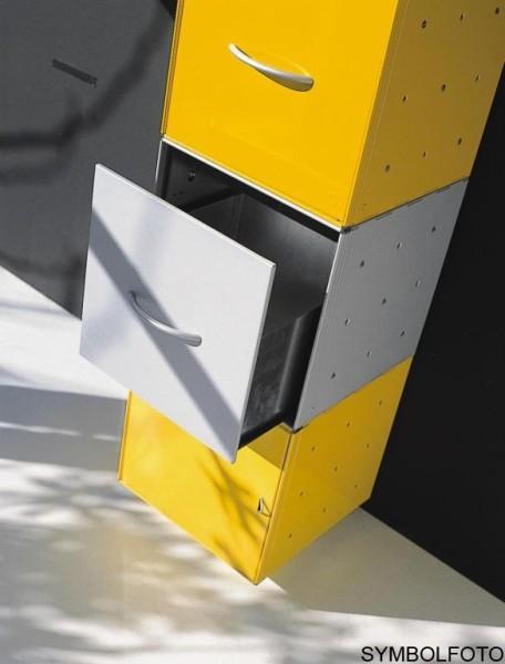 Graepel High Tech Schublade aus poliertem Edelstahl für QBO Würfel Graepel Hightech K00088030