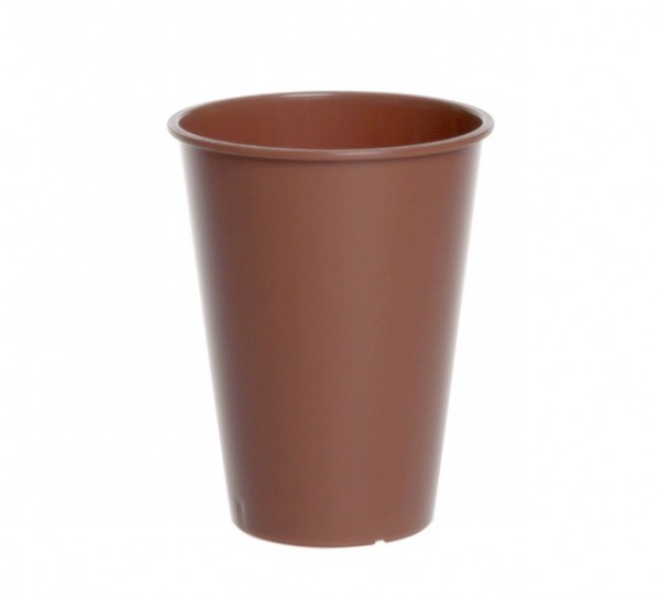 Plastic Coffee and Tea Cup 0,15l transparent or brown Schorm GmbH 9079,9079-1