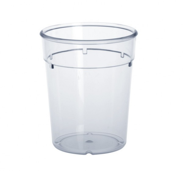 20 piece plastic reusable-cup crystal clear 0,2l PC stack able in set Schorm GmbH 9015
