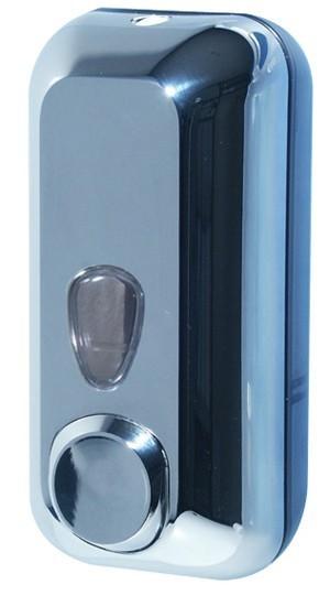 Soap dispenser made of polyethylene in satin or chrome 0,55 liter Marplast S.p.A. 714,714