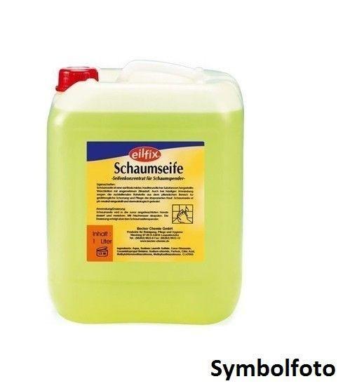 Eilfix foam soap 1000ml with pleasant citrus scent for foam dispensers Becker 100324-001-000