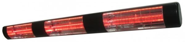Heatlight Infrarot Heizstrahler schwarz aus Aluminium 4500W für den Außenbereich Heatlight Infrarot HLW45BG