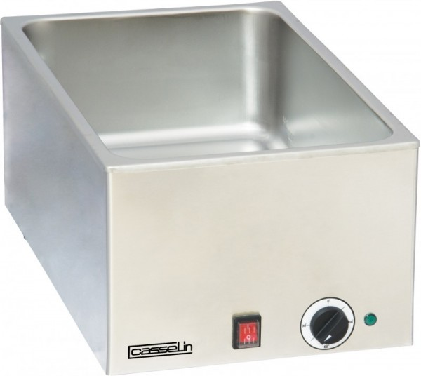 Casselin stainless steel bain marie with 1, 2 or 3 vats - with safety thermostat Casselin CBM1,CBM2,CBM3