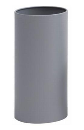 Graepel G-Line Pro, wastebasket Pieno silver painted steel 1.4016, 2 sizes G-line Pro K00021693,K00021695