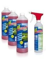 URIMAT MB- Aktiv Reiniger Kalkex Kombipack: 3 x 1 Liter Konzentrat + 1 Sprühflasche (leer) Urimat 80002