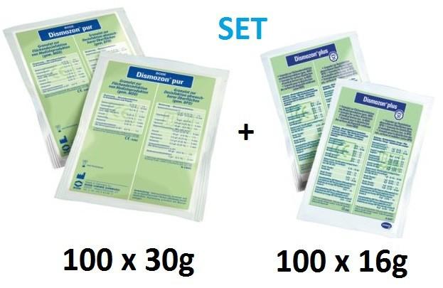 Set - Dismozon pur Flächen - Desinfektionsreiniger + Dis...