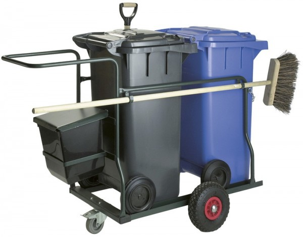 Robust Cleaning Cart 2x 120 L, with accessories VB 950500
