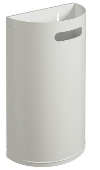 Arkea Abfalleimer 40 Liter aus Stahl oder Edelstahl gebürstet von Rossignol