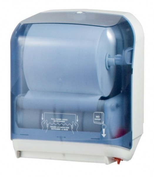 Marplast papertowel dispenser Easy Cut MP750 in white or satin Marplast S.p.A. A75020,MP750