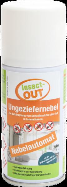 Mit dem Wirkstoff der Chrysantheme - Insect-OUT® Ungeziefernebel 150 ml