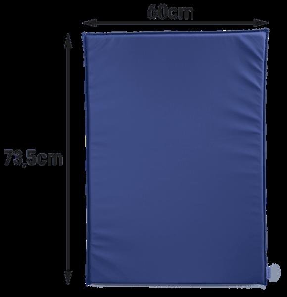 Wickeltisch-Auflage Mowi in blau oder weiß Timkid
