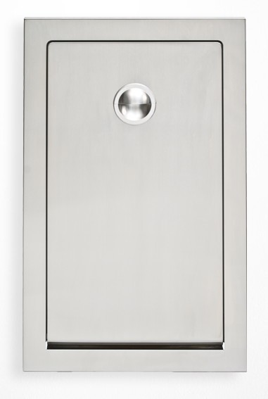 Stainless Steel Koala Changing Station KB111-SSRE Vertical mounting in the wall Koala Kare Products KB111-SSRE