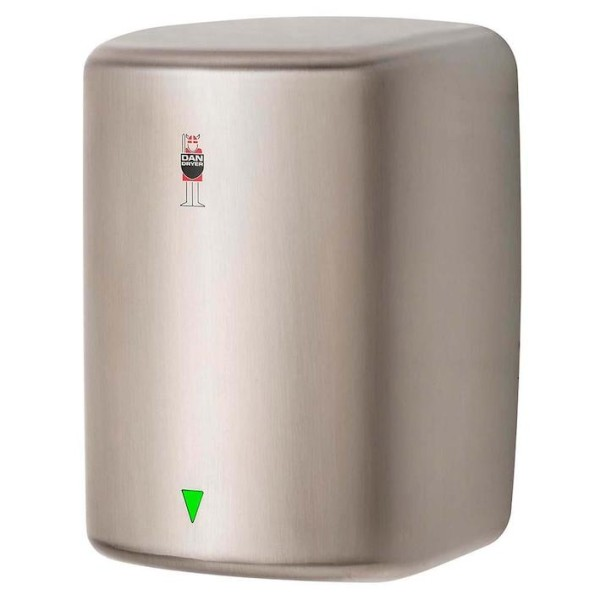Dan Dryer Turbo hand dryer in brushed, stainless steel with 1600W Dan Dryer A/S 247