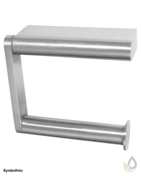 "Proox® ONE pure PU-385 einfacher WC Rollenhalter ""extra strong"" aus Edelstahl"