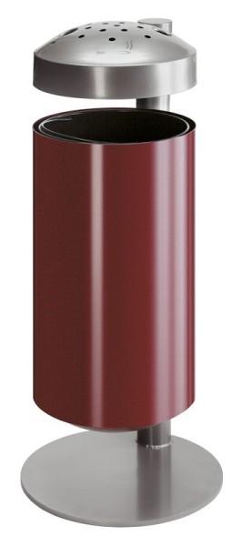 Ascher-Papierkorb aus Metall 50 Liter auf Ständer VB 980020