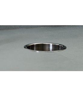 Bobrick B-529 TrimLine-Serie Edelstahl Einwurfring zum Einbau in Waschtischplatte Bobrick  B-529