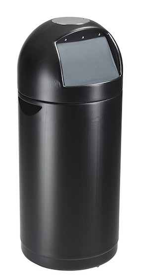 Rossignol Cyvomax black push flap bin 52 liter made of polyethylene plastic Rossignol 58033