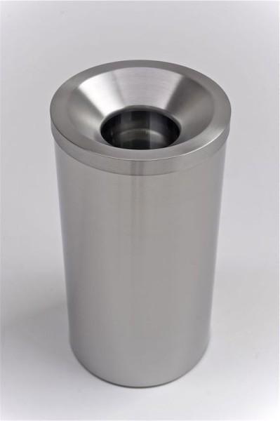 G-Line Pro GRIZÙ selbstlöschender Papierkorb aus geschliffenem Edelstahl 1.4016 G-line Pro K00021300,K00021310