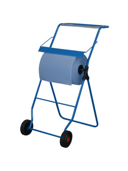 Metzger blue cleaning roll holder with floor stand for rolls up to 40 cm width JM-Metzger GmbH PRH3200