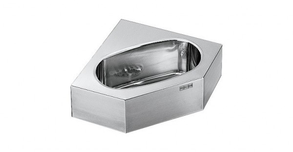 Franke washbasin WT310E for wall- and cornermount made of stainless steel Franke GmbH WT310E