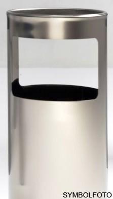 Graepel G-Line Pro LIVIGNO outdoor Standascher aus geschliffenem Edelstahl 1.4301 G-line Pro K00031940