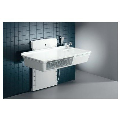 Pressalit changing table in 2 sizes - adjustable height, lowstart - max. 75 kg Pressalit R8782,R8783