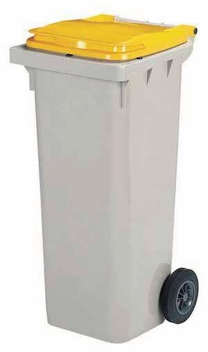 Korok garbage can made of virgin high-density polyethylene plastic from Rossignol Rossignol 56664,56666,56667,56621,56622,56623,56631,56632,56633
