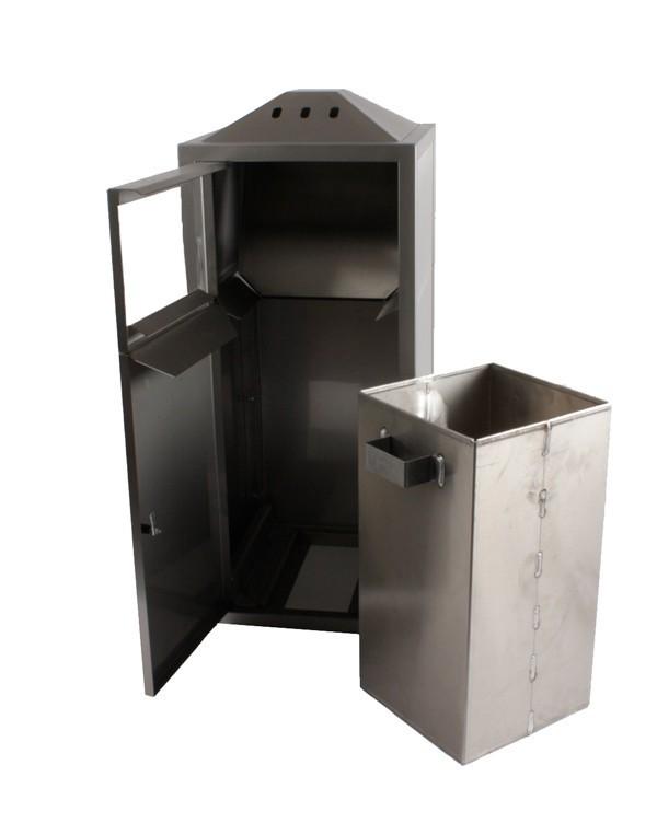 Aschenbecher mit Mülleimer