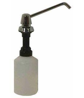 Seifenspender für den Waschtischeinbau aus Kunststoff Vandalsicher