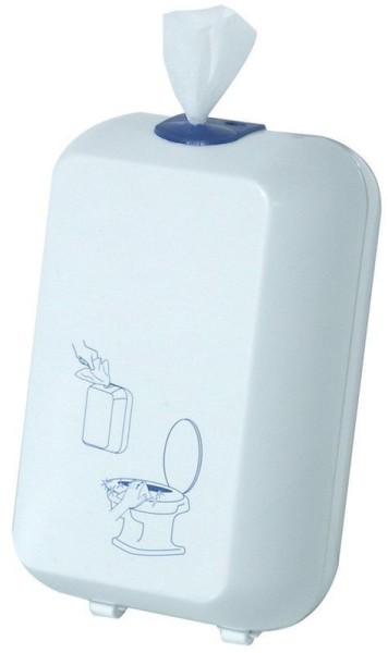 Toilet seat cleaning cloth dispenser MP 689 made of plastic Marplast S.p.A. 689,689