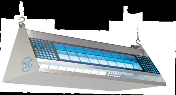 Moel Mo-Stick Klebefalle 372 aus Edelstahl mit 2 x 40W Lampen und 220-240V