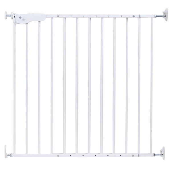Childhome Supra Tür+Treppengitter Metal Weiss (75-110Cm) Childhome
