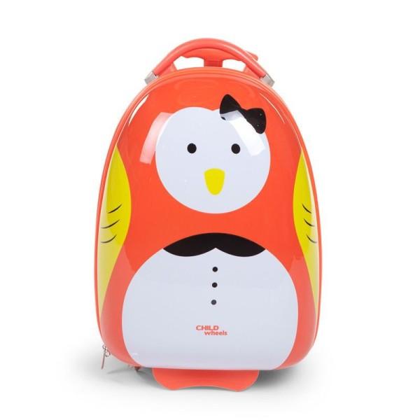 Childwheels Kindertrolly 17 Liter - Modell Vogel CHTRBO Childhome  Taschen