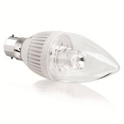 240V B15d 5W Dimmable Candle LED Lamp Aurora AU-DCB1505/30