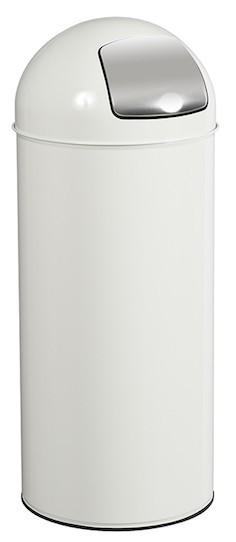 Rossignol push swing bin 45L made of anti-UV powder-coated steel or stainless steel Rossignol 57467,57469,59793,57468,57472,57473,57474,57421,57422,57423,57424