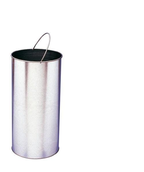 Rossignol Tulipe inner bin 40L galvanised steel for waste containers Rossignol 58061