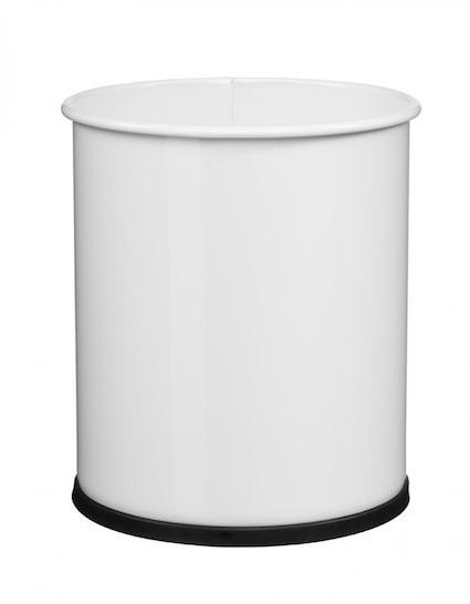 Rossignol Papea paper bin 8L made of anti-UV powder coated steel or stainless steel Rossignol 59781,59791,59804,59779,59780,59784,59843,59844,59845,59846,59785