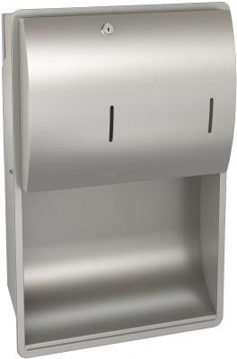 Franke towel and soap dispenser combination made of stainless steel Franke GmbH STRX601E