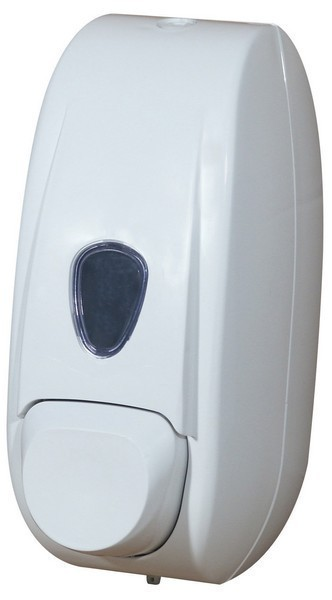 Soap dispenser Marplast in white refillable for wall mounting 0,6 liters Marplast S.p.A. A701