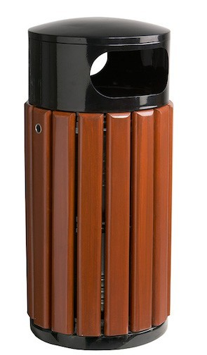 Rossignol free standing or fixed bin 40L or 60L with lock with triangular key Rossignol 57996,5821