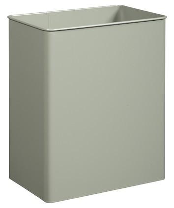 Rossignol rectangular wall mounted swivel bin 27L made of anti-UV powder coated steel Rossignol 58385,58388,58381